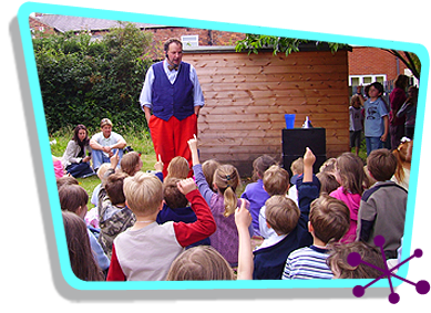 Mr Windbags - School Event Entertainer